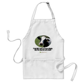If God didn't want us to eat animals.... Standard Apron