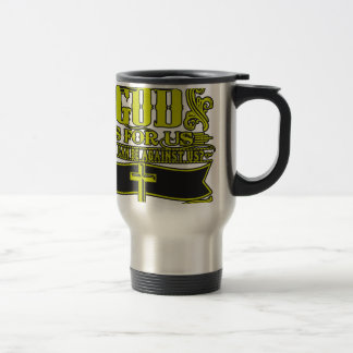 If God Is For Us - Christian Religious Travel Mug