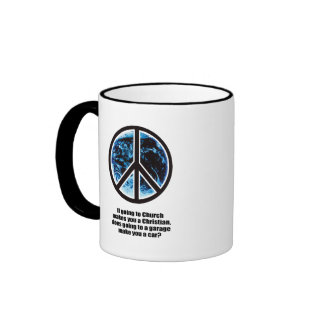 If going to a church makes you a Christian Coffee Mugs