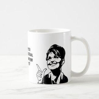 If going to a church makes you a Christian Coffee Mug