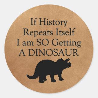 If History Rpeats Itself... Sticker