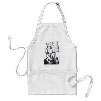 If I Knew Where I was Going Adult Apron