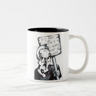 If I Knew Where I Was Going Two-Tone Mug