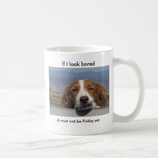 If I Look Bored Basic White Mug