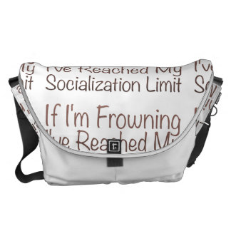If I'm Frowning…in Brown Commuter Bags