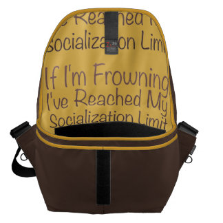 If I'm Frowning…in Brown Courier Bags