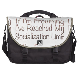 If I'm Frowning…in Brown Bags For Laptop