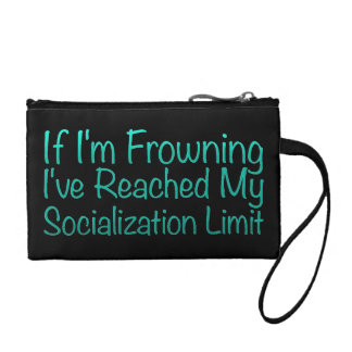If I'm Frowning…in DuckBlue Change Purses