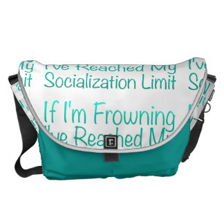 If I'm Frowning…in DuckBlue Courier Bag