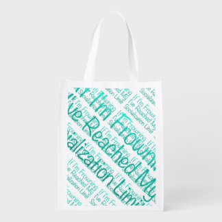If I'm Frowning…in DuckBlue Market Totes