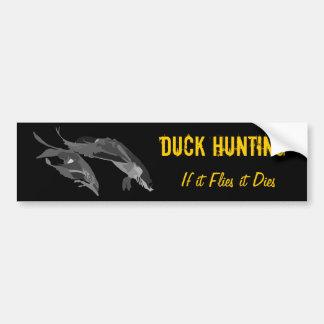 If it Flies it Dies - Duck Hunting Bumper Sticker