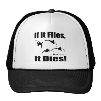 If It Flies It Dies Mesh Hats