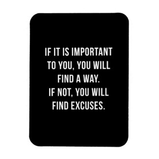 If it is important - Magnet