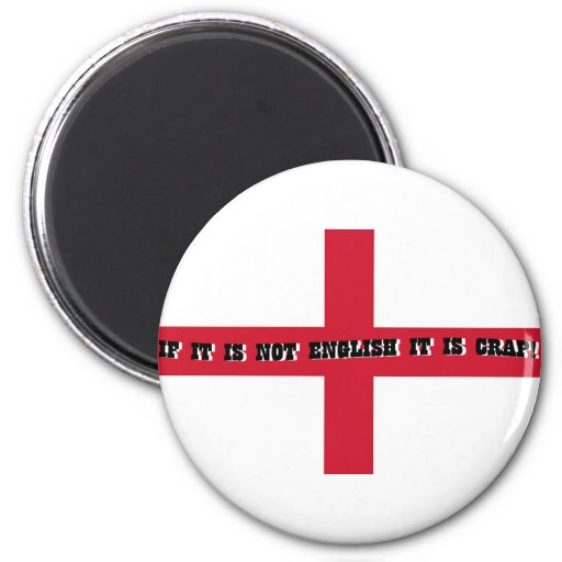 If it is not English... Refrigerator Magnet