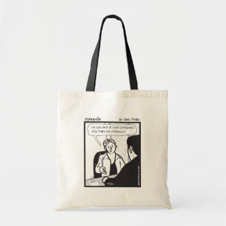 If It Offends You Budget Tote Bag