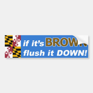 If it's Anthony Brown for Maryland Governor…. Bumper Sticker