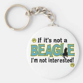 If It's Not a Beagle Key Ring