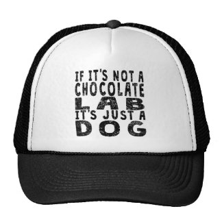 If It's Not A Chocolate Lab Cap