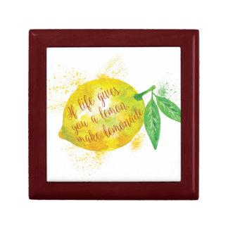 If Life Gives You A Lemon, Make Lemonade Gift Box