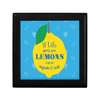 If Life Gives You Lemons, Grab Tequila And Salt Gift Box
