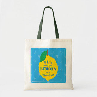 If Life Gives You Lemons, Grab Tequila And Salt Tote Bag