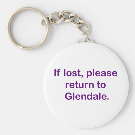If Lost, Please Return Key Ring