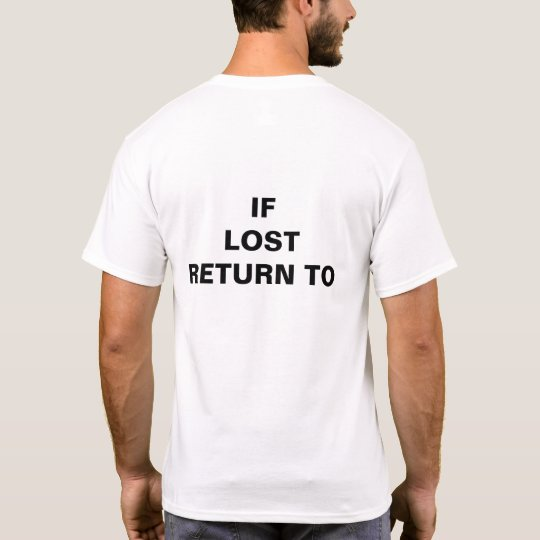 If Lost Return to___ (fill in the blank)