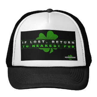 If Lost Return to Nearest Pub Hat