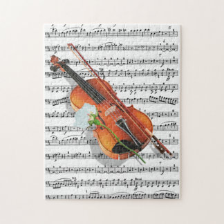 If Music be the food of Love.. Jigsaw Puzzle