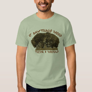 If Mythago Wood T-shirts
