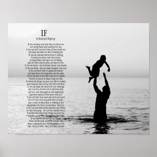 If Poem by Rudyard Kipling Posters