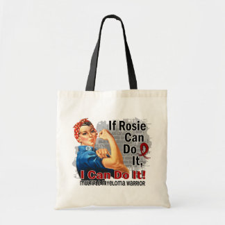 If Rosie Can Do It Multiple Myeloma Warrior Budget Tote Bag