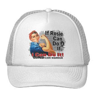 If Rosie Can Do It Skin Cancer Warrior Trucker Hat