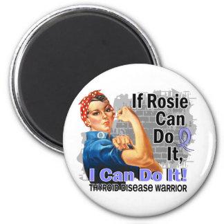 If Rosie Can Do It Thyroid Disease Warrior Fridge Magnets