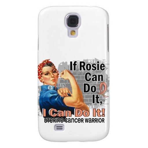 If Rosie Can Do It Uterine Cancer Warrior Galaxy S4 Cases
