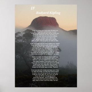 If - Rudyard Kipling Posters