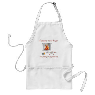 If Santa Gives Me Coal This Year Standard Apron