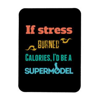 If stress Burned Rectangular Magnet