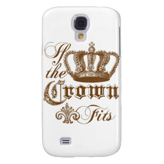 If the Crown fits Galaxy S4 Case