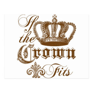 If the Crown fits Post Cards