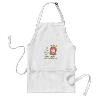 IF THE QUEEN ISNT HAPPY STANDARD APRON