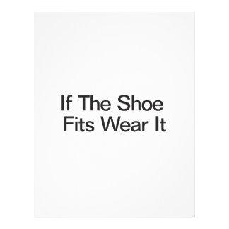 If The Shoe Fits Wear It Flyers