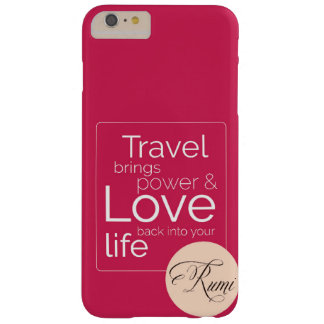 If Travel is your Love, its for you! Barely There iPhone 6 Plus Case