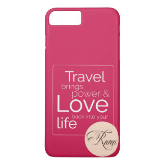 If Travel is your Love, its for you! iPhone 7 Plus Case