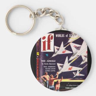 If v04 n04 (1954-12.Quinn)_Pulp Art Basic Round Button Key Ring