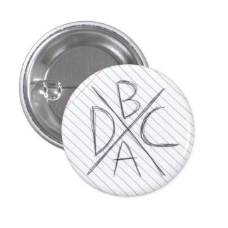 If we were a punk band we'd sell buttons like this