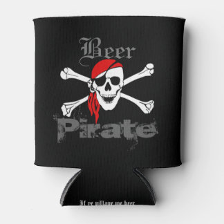 If Ye Pillage Me Beer Funny Beer Pirate Can Cooler