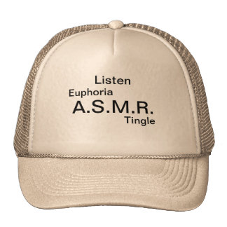 If you are a fan of ASMR show off your passion. Cap