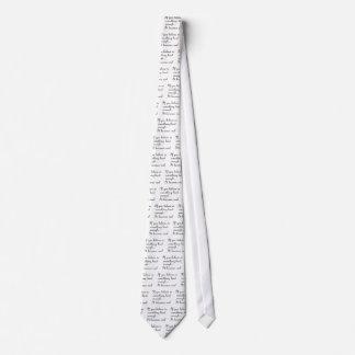 If you believe in something-tie tie