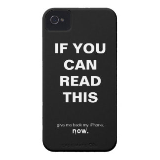 If You Can Read This, Give Me Back My iPhone iPhone 4 Case